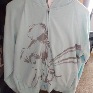 Tinker Bell hooded sweatshirt
